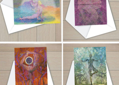 YOGAPAINTER NOTE CARDS