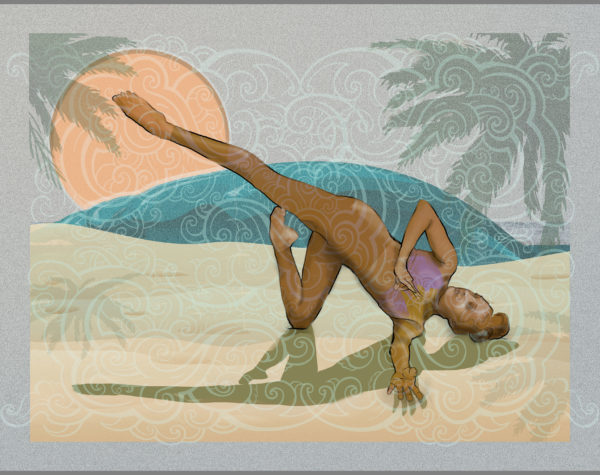 "Exhibit ""The Art of Yoga"" with the City of Palm Beach Gardens"