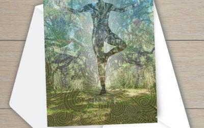 Ancient Oak Note Cards In 3 Studios
